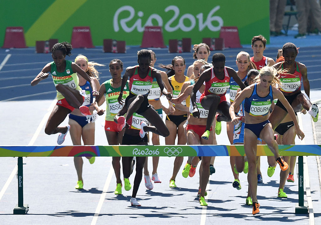 Team USA's Emma Coburn Wins Bronze Medal 2