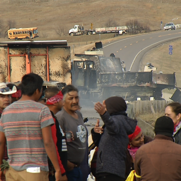 Protestors figure out what to do after a second standoff with law enforcement