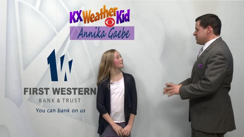 KX Weather Kids- Annika Gaebe