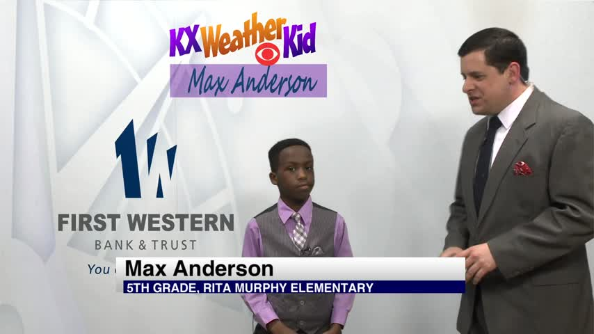 KX Weather Kids - Max Anderson