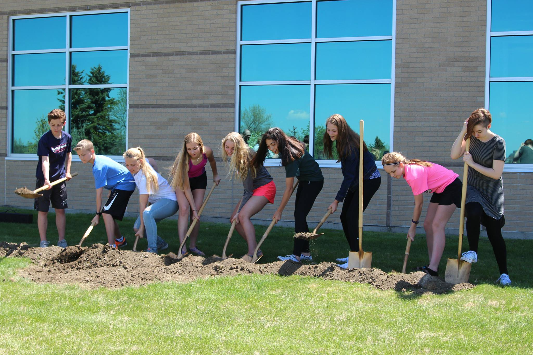 Horizon Middle School Ground Breaking
