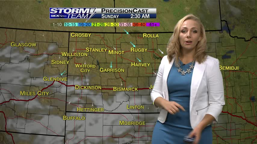Saturday's One Minute Forecast 8/19