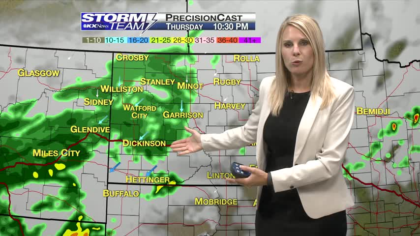 One Minute Forecast 9/14