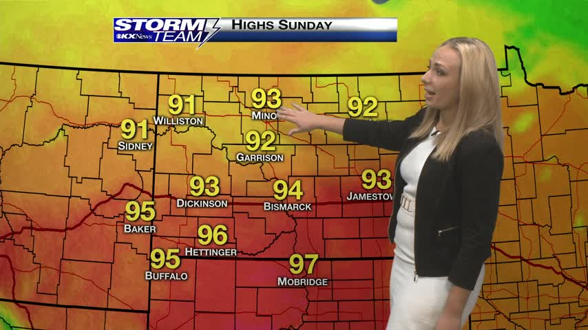 Saturday's One Minute Forecast 9/2