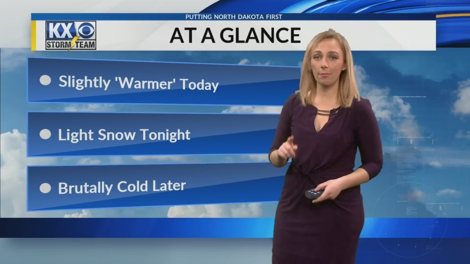 Wednesday's One Minute Forecast 12/27