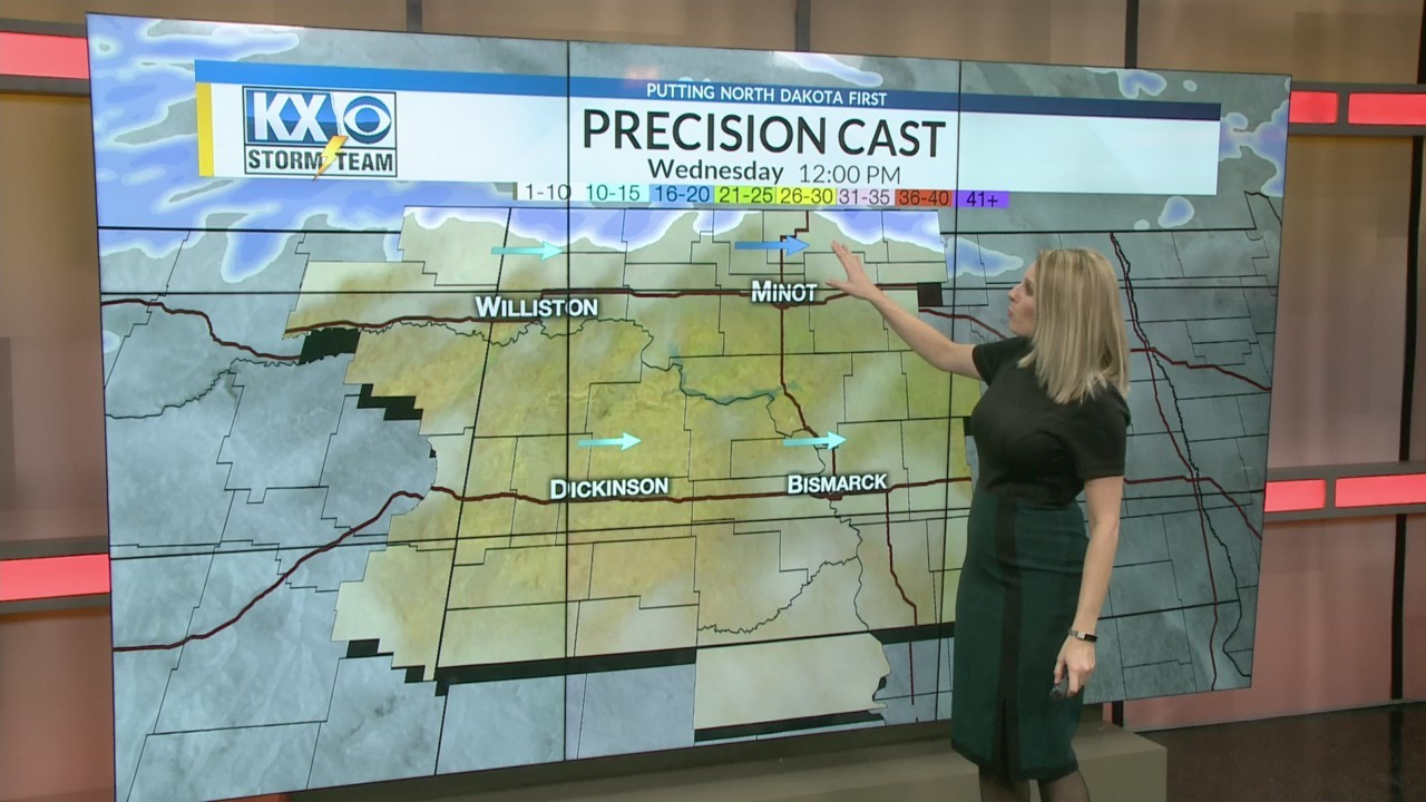 Tuesday One Minute Forecast 2/13