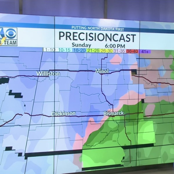 Afternoon One Minute Forecast | Friday 3/2
