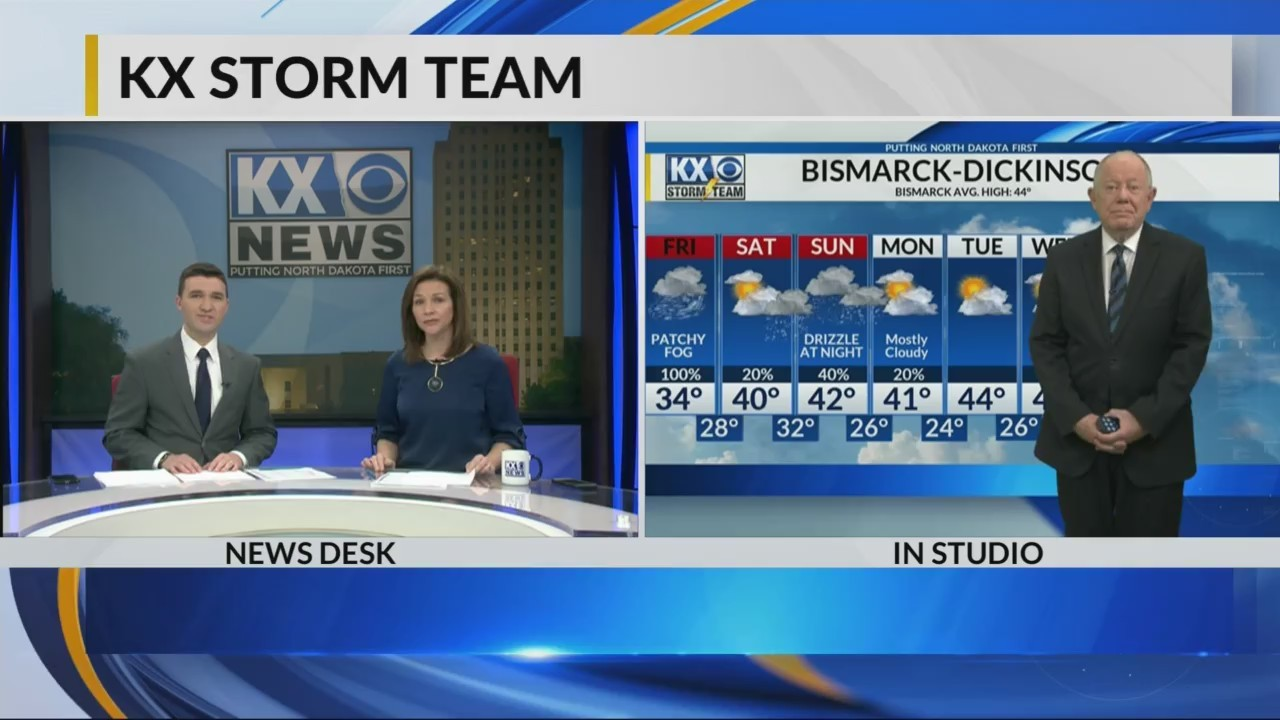 Full forecast from KX News