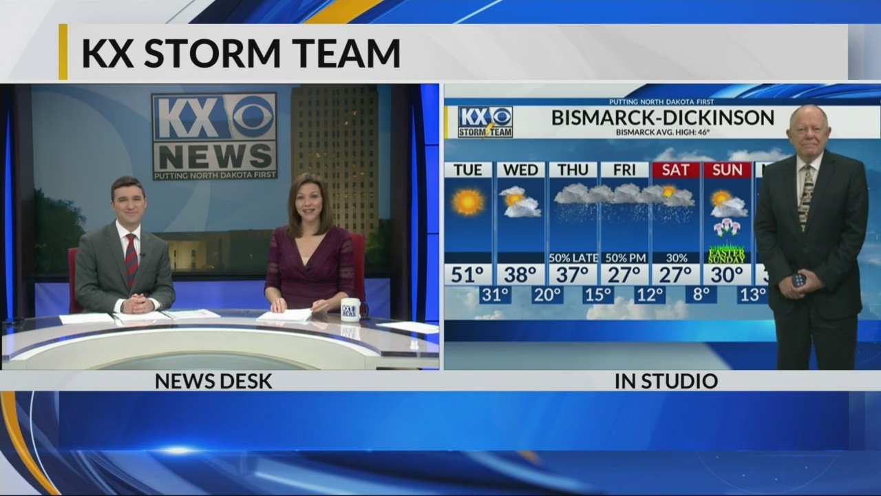 KX News at 6 Weather