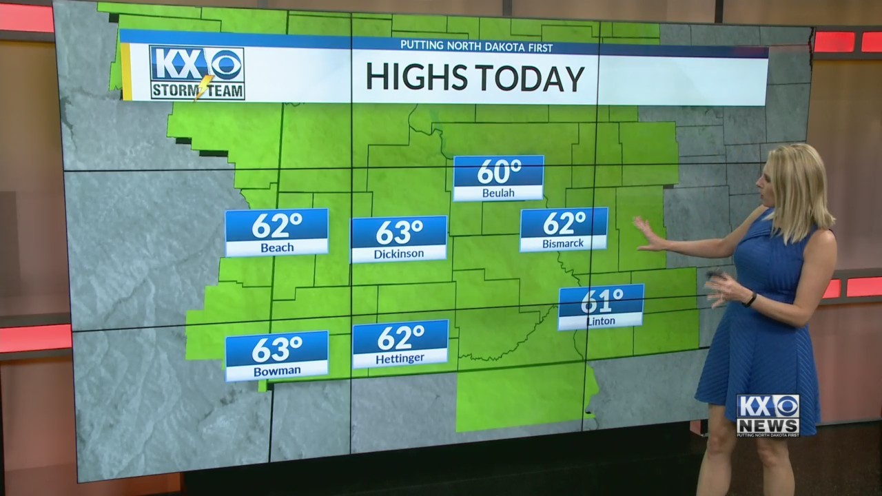 Amber's Friday Morning One Minute Forecast 4/27