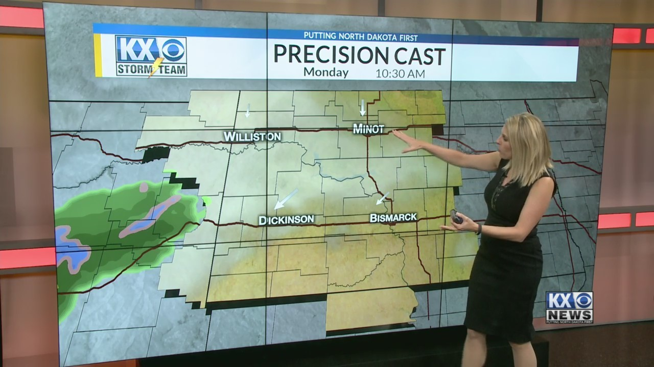 Amber's Monday Morning One Minute Forecast 4/23