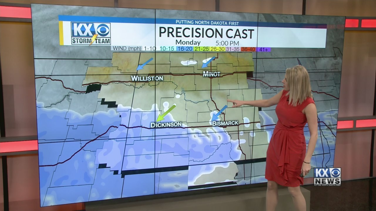 Amber's Monday One Minute Forecast 4/2