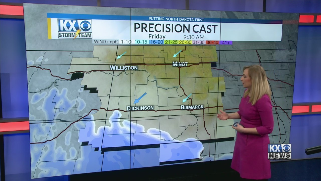 Friday's Morning One Minute Forecast 4/13