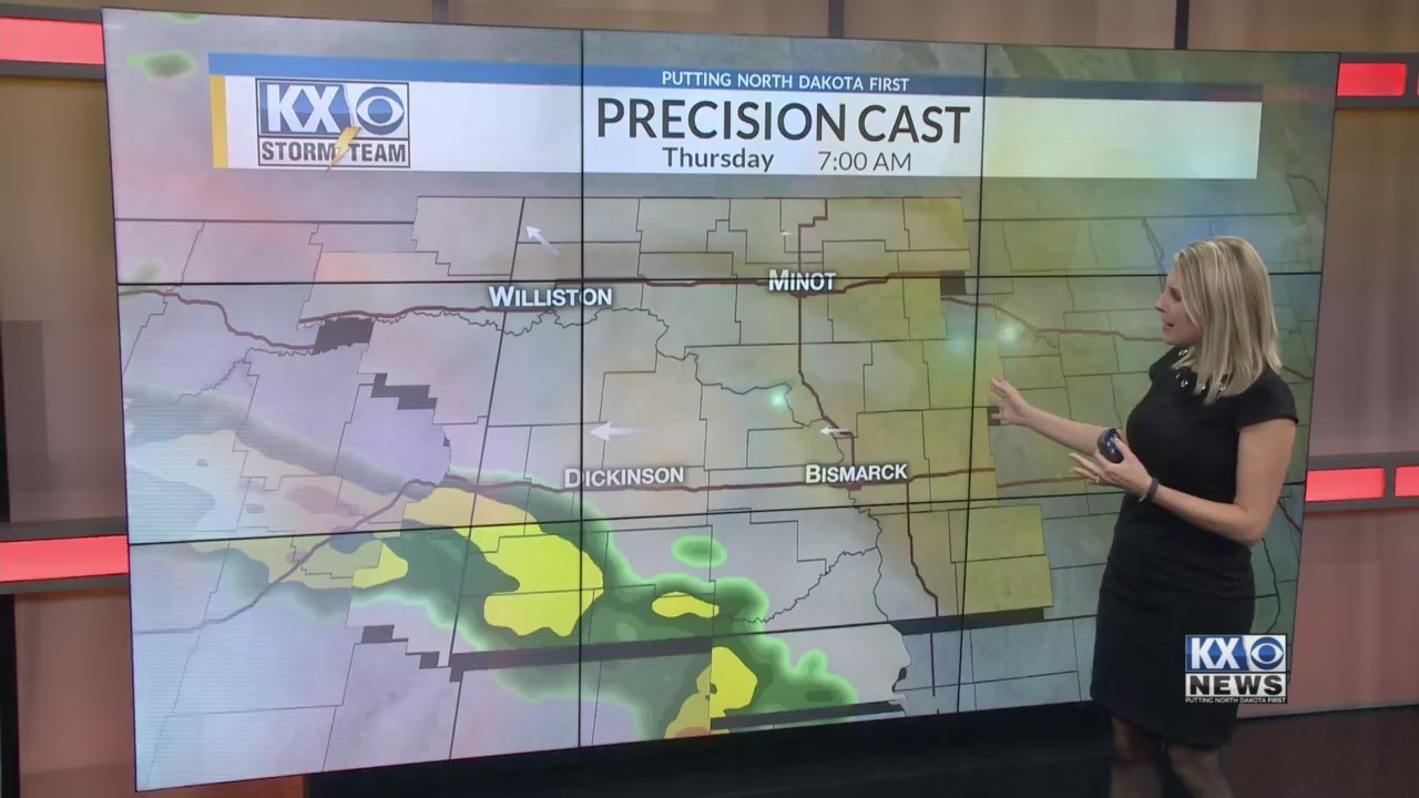 Amber's Thursday Morning One Minute Forecast 5/10