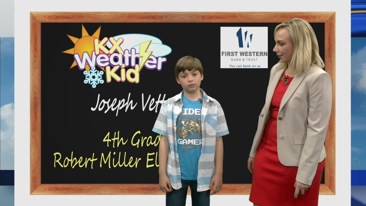 Joseph Vetter Weather Kid 5/1