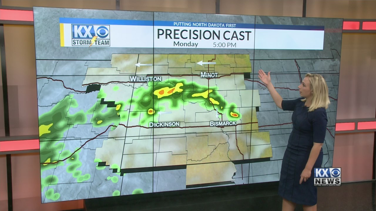 Monday's One Minute Forecast 5/28