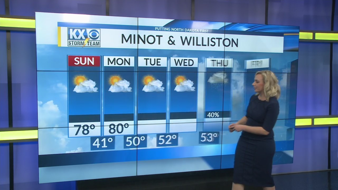 Saturday's One Minute Forecast 5/12