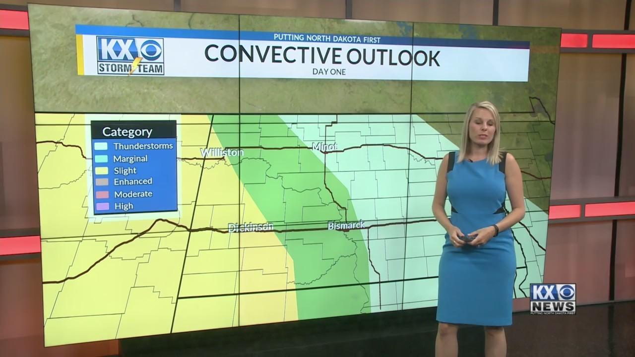 Amber's Thursday Morning One Minute Forecast 6/7
