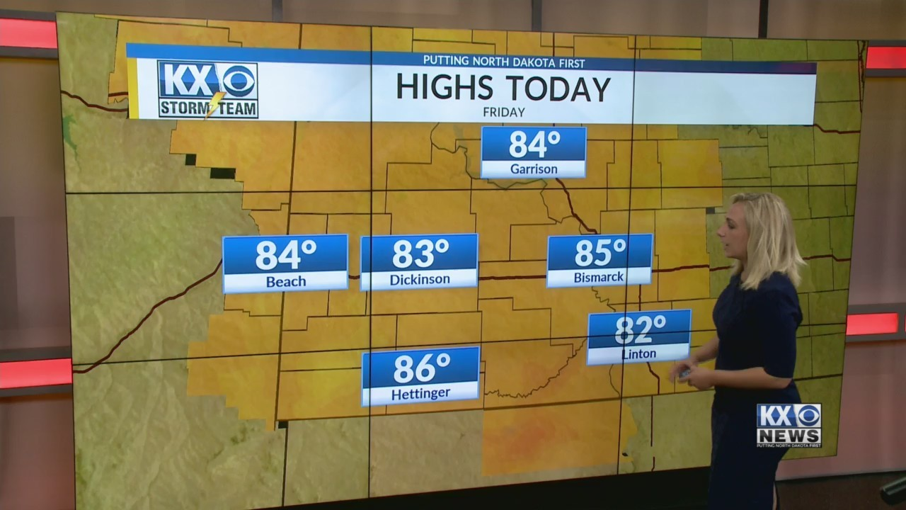 Friday's Morning One Minute Forecast 6/8