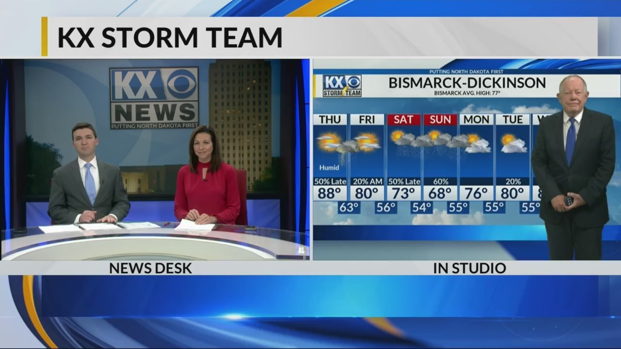 KX Storm Team 10pm Full Forecast 6-13