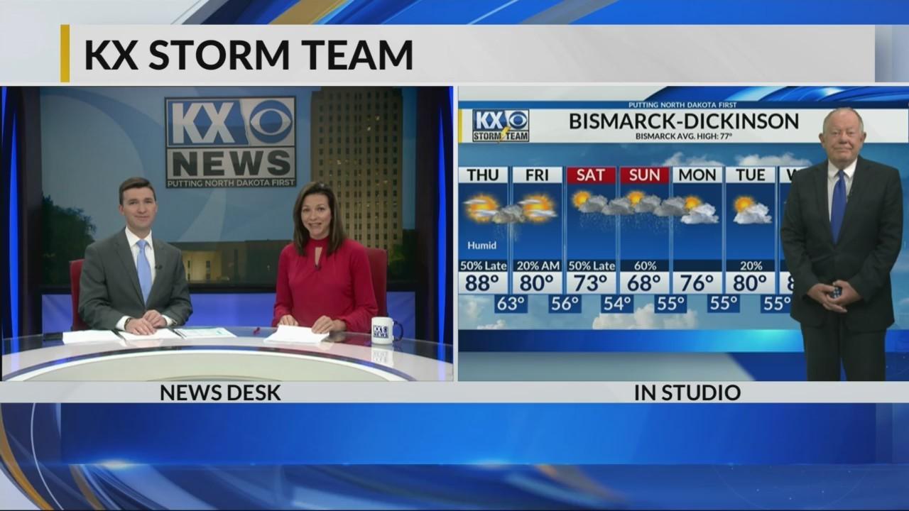 KX Storm Team Evening Forecast 6-13