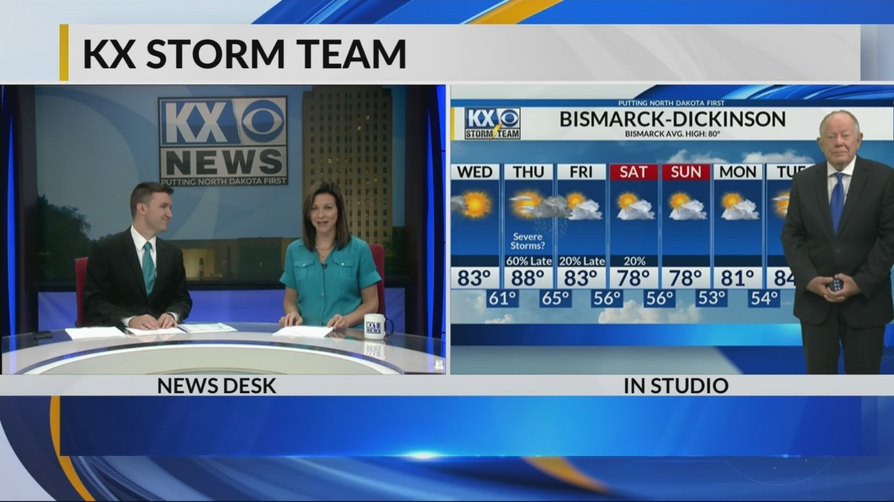 KX Storm Team forecast from KX News at 6