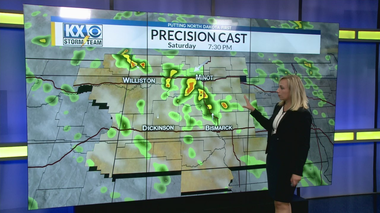 Sunday's One Minute Forecast 6/23