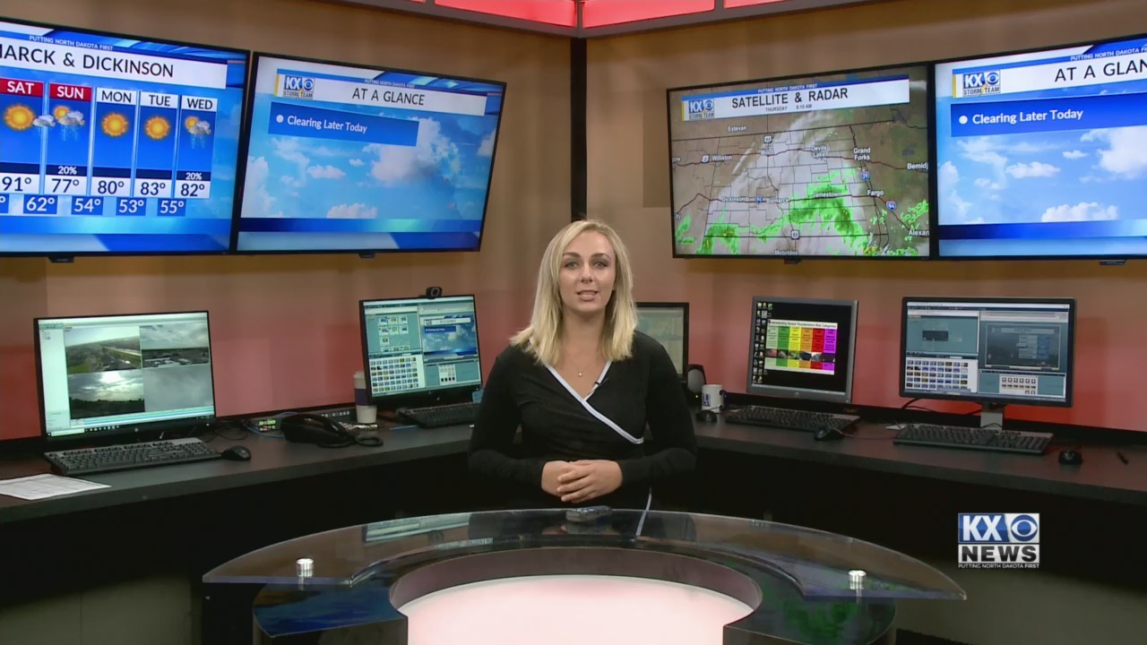 Monday's Morning One Minute Forecast 7/12