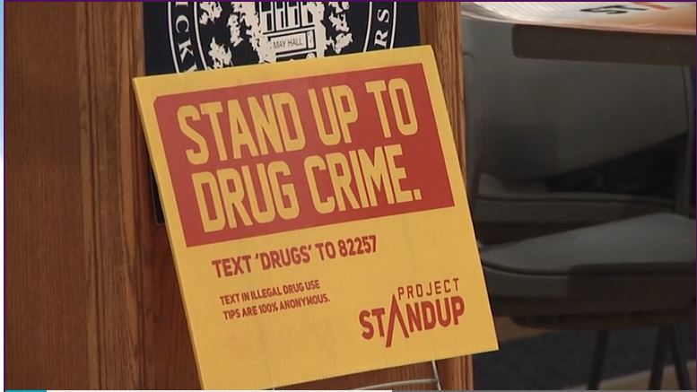 Sheriff's office announces launch of new anonymous drug tip line