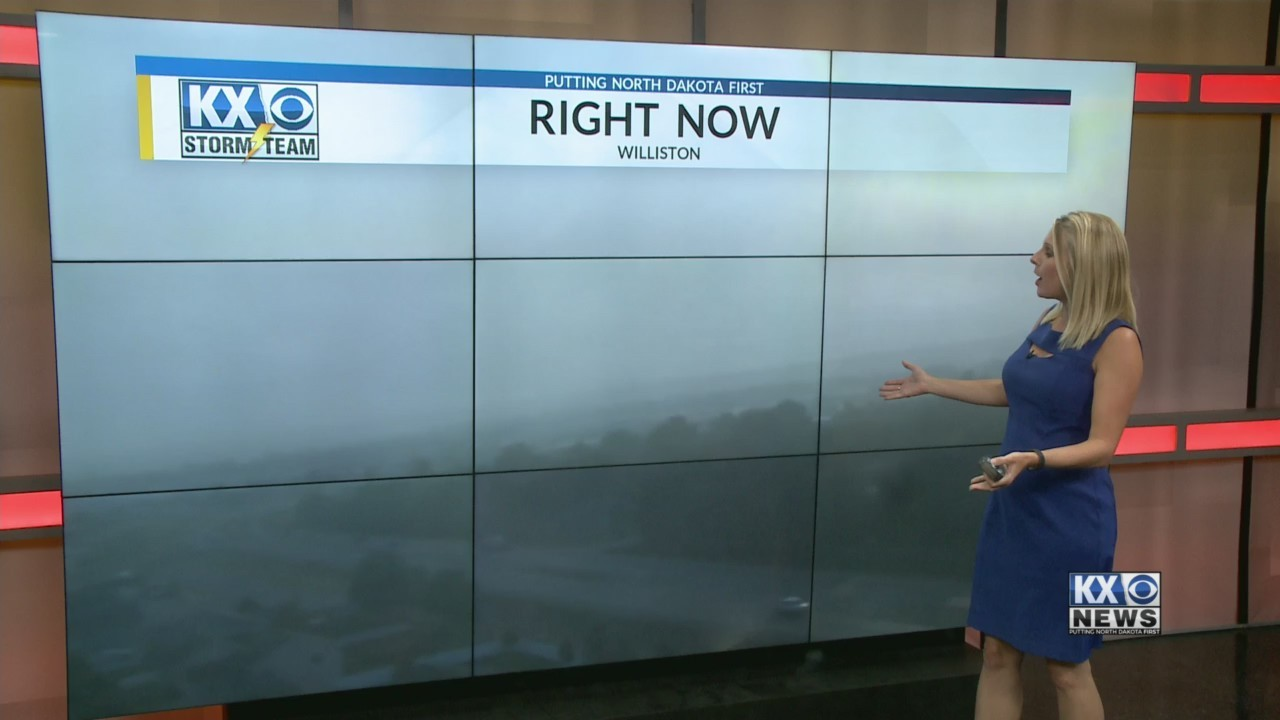 Amber's Friday Morning One Minute Forecast 8/10