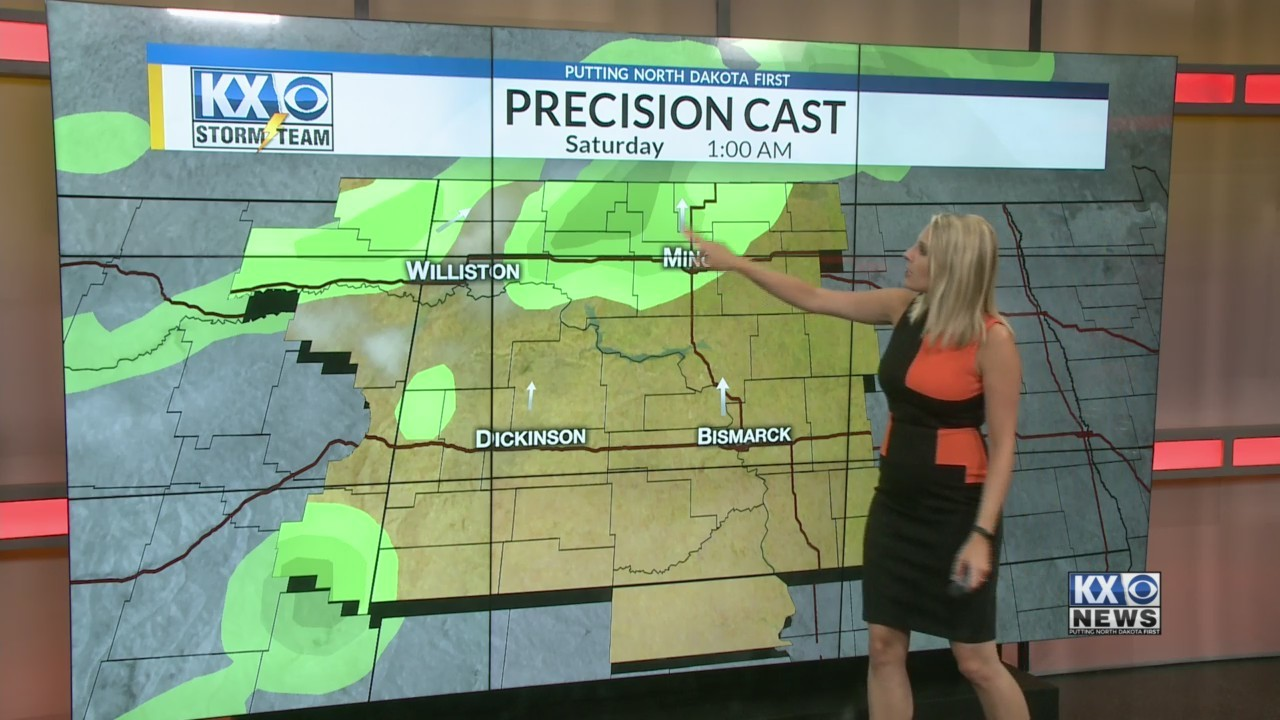 Amber's Friday Morning One Minute Forecast 8/17