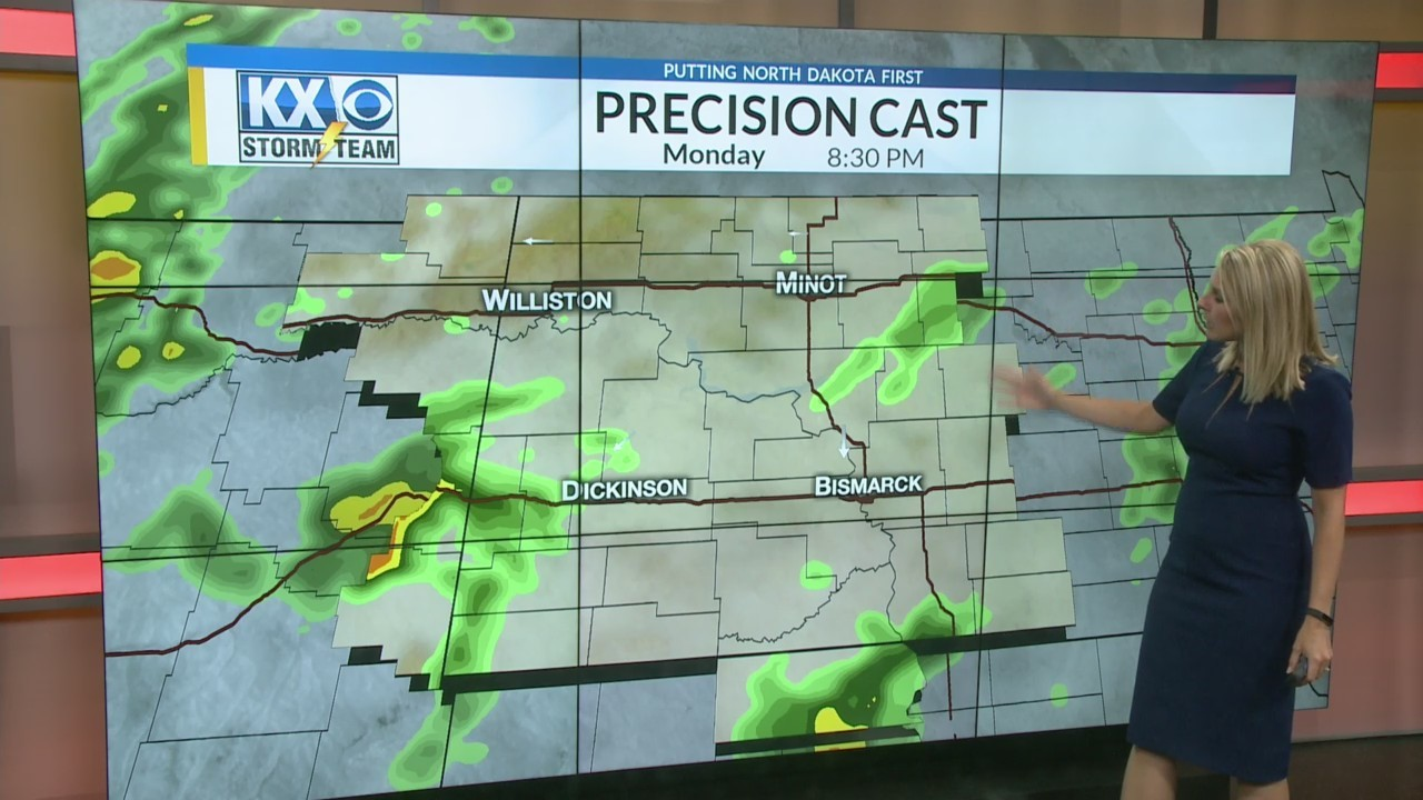 Amber's Monday Morning One Minute Forecast 8/27