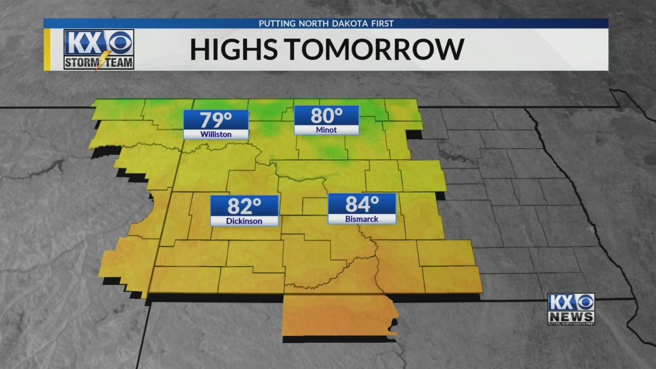 Amber's Saturday Evening One Minute Forecast 8/4