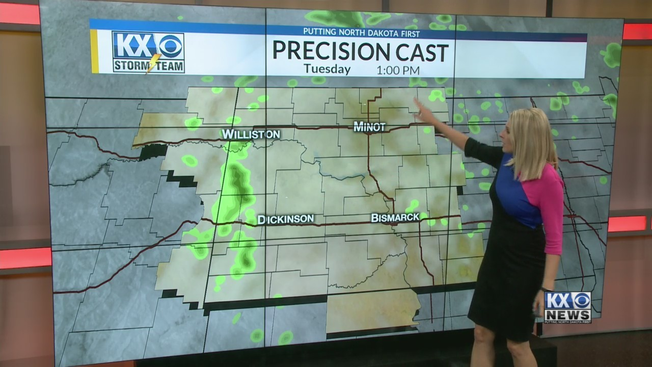 Amber's Tuesday Morning One Minute Forecast 8/28