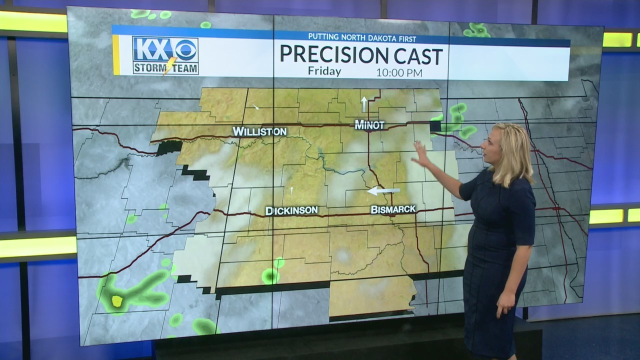 Friday's One Minute Forecast 8/3