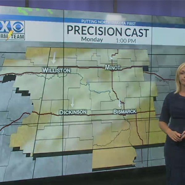 Sunday's One Minute Forecast 8/12