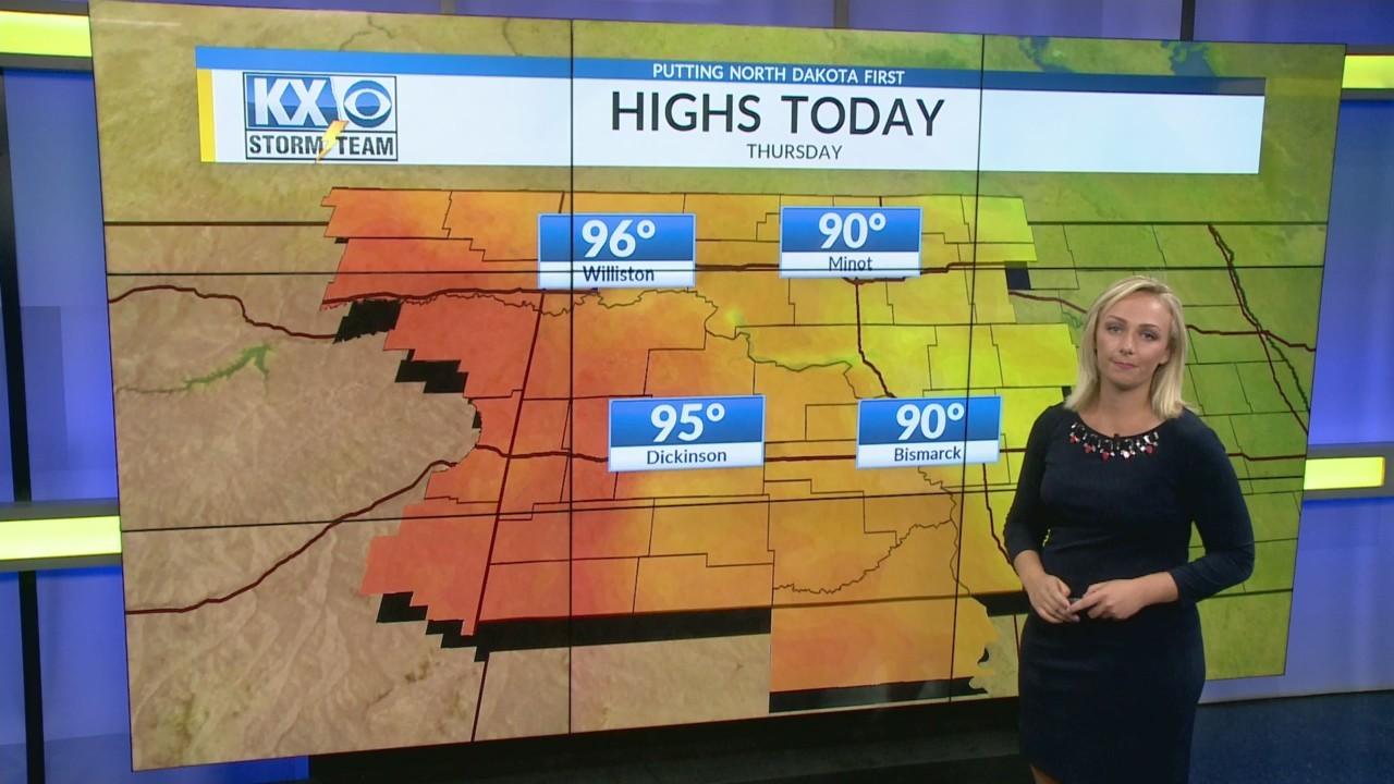 Thursday's One Minute Forecast 8/2