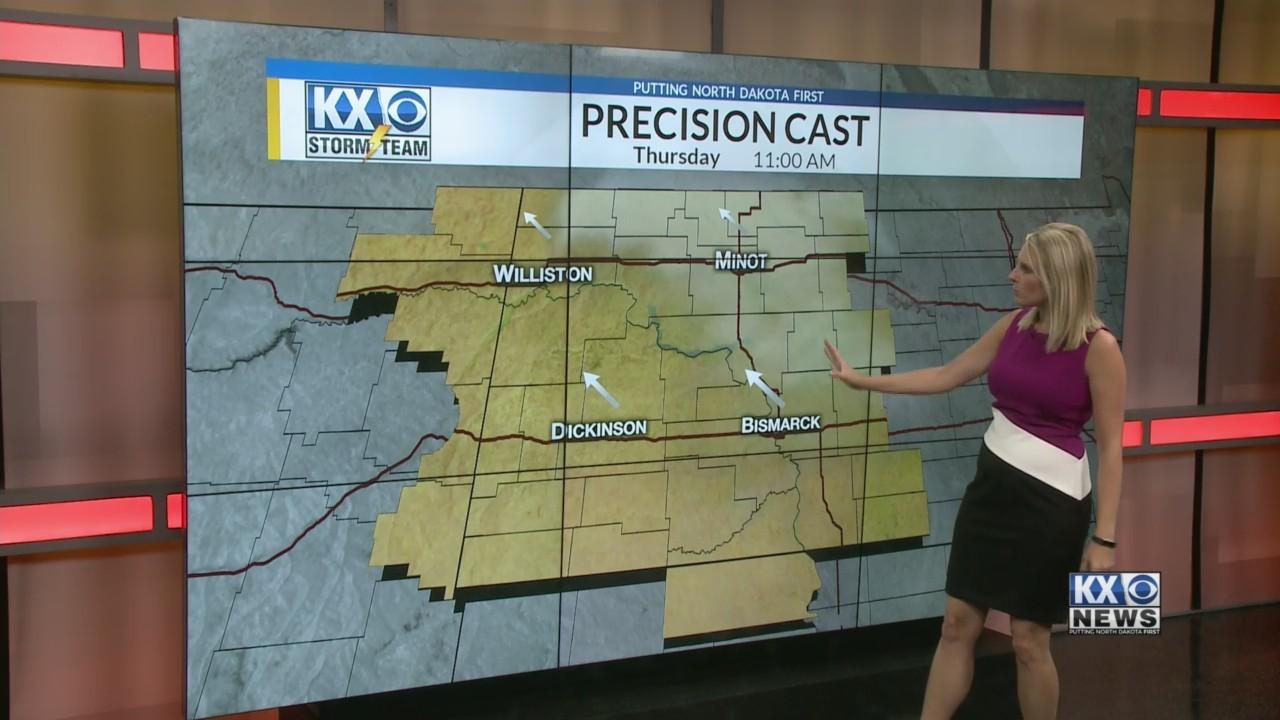 Amber's Thursday Morning One Minute Forecast 9/6