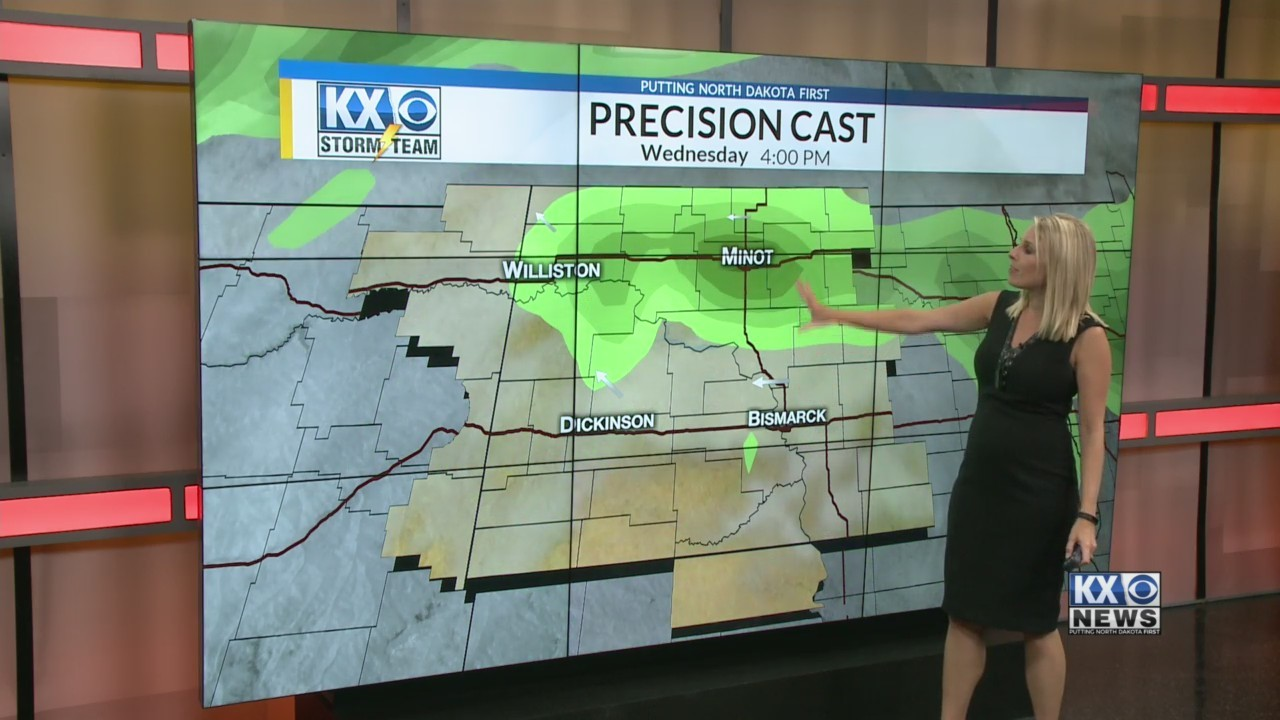 Amber's Tuesday Morning One Minute Forecast 9/11