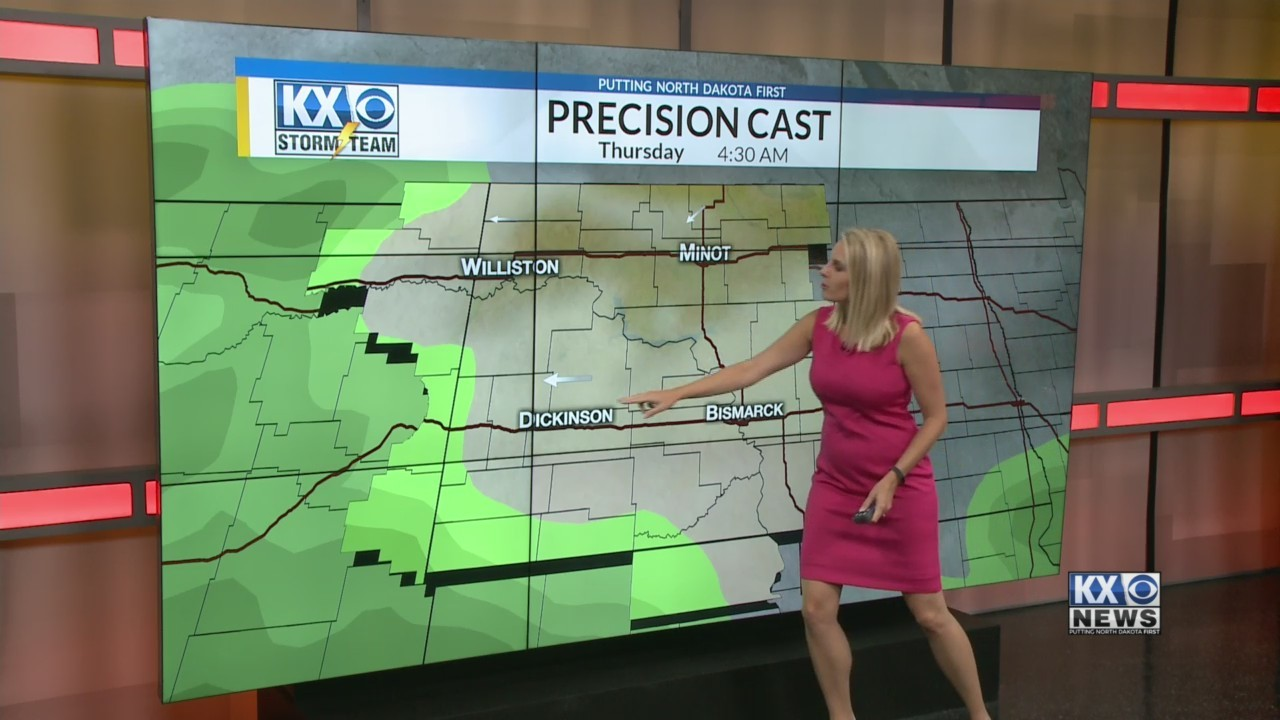 Amber's Tuesday Morning One Minute Forecast 9/18