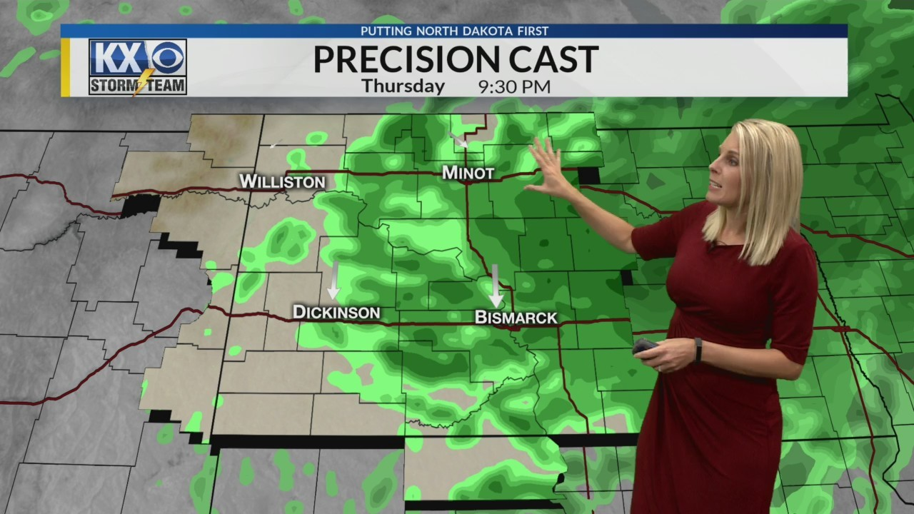 Amber's Wednesday Morning One Minute Forecast 9/19