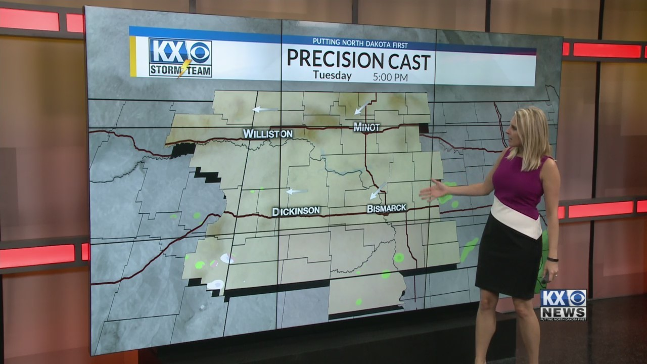 Amber's Tuesday Morning One Minute Forecast 10/9
