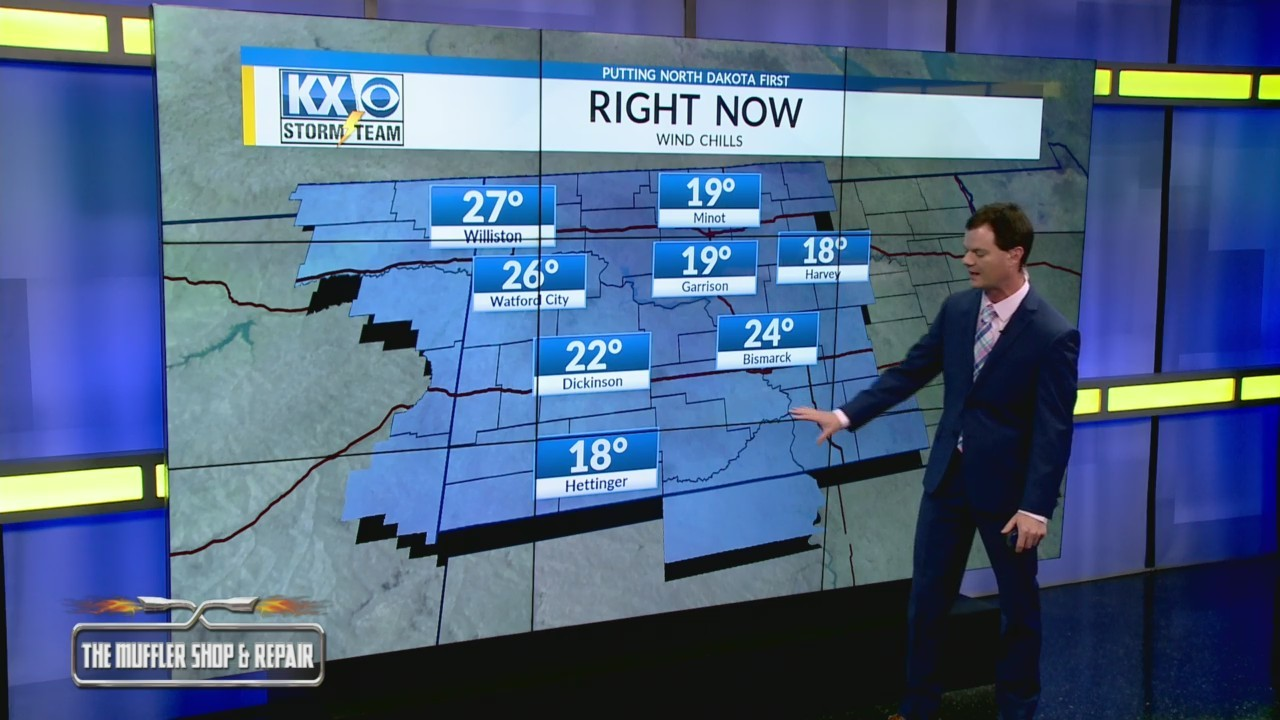 Robert's One Minute Forecast 10-14-2018