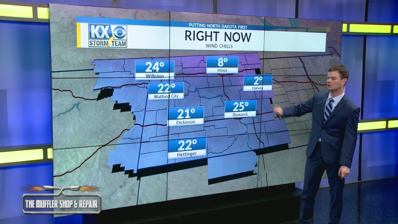 Robert's One Minute Forecast 11-18-18