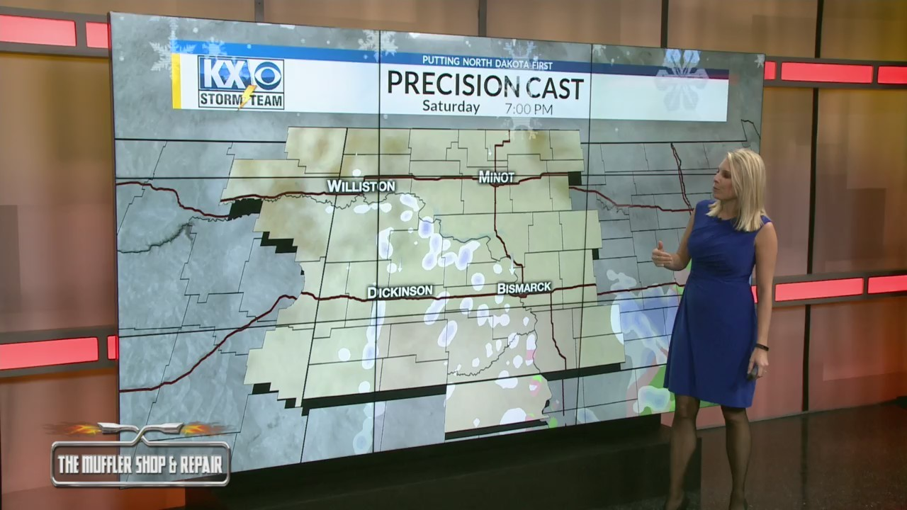 Your Friday Morning One Minute Forecast 11/2
