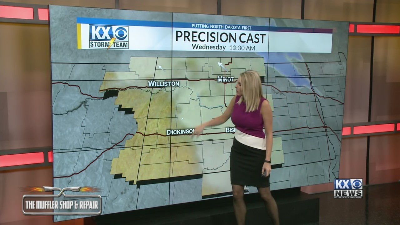 Your Wednesday Morning One Minute Forecast 11/21