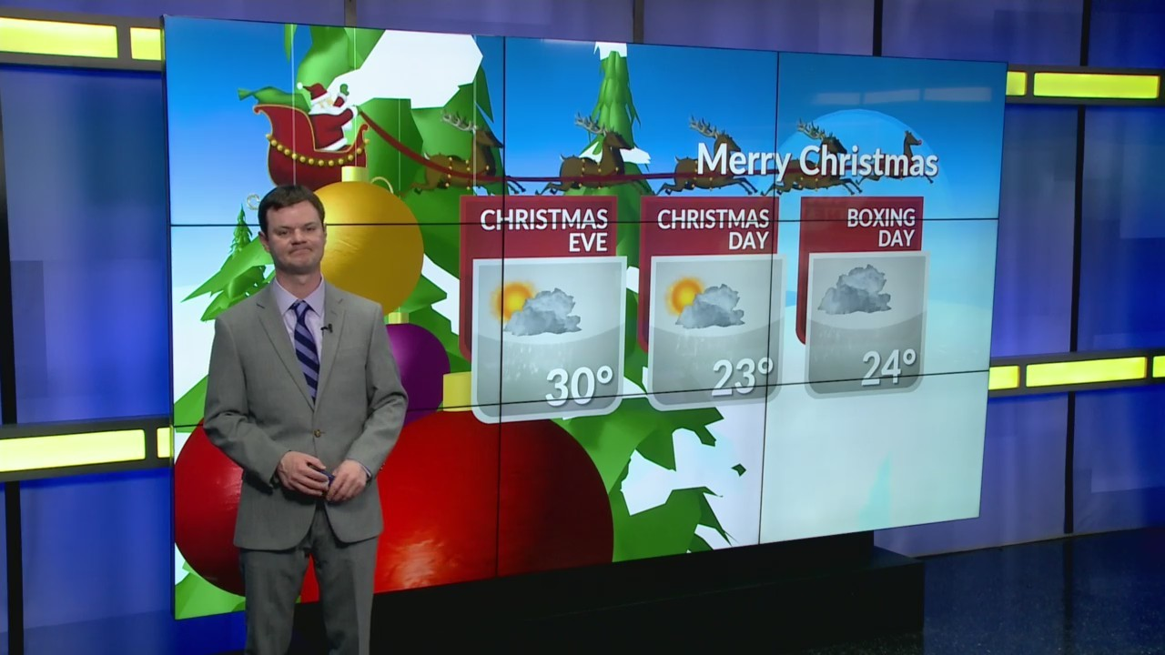 Robert's One Minute Forecast 12-23-18