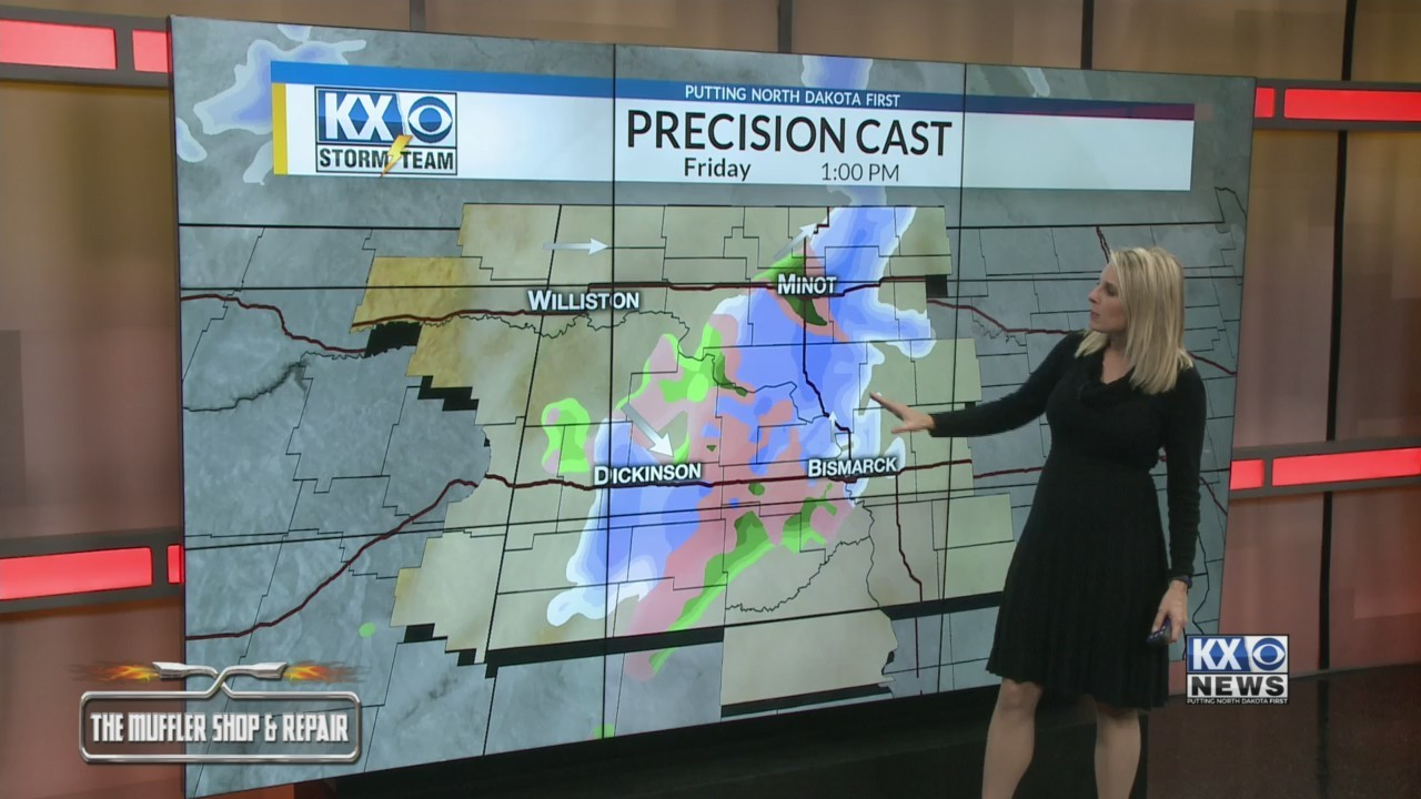 Your Friday Morning One Minute Forecast 12/21