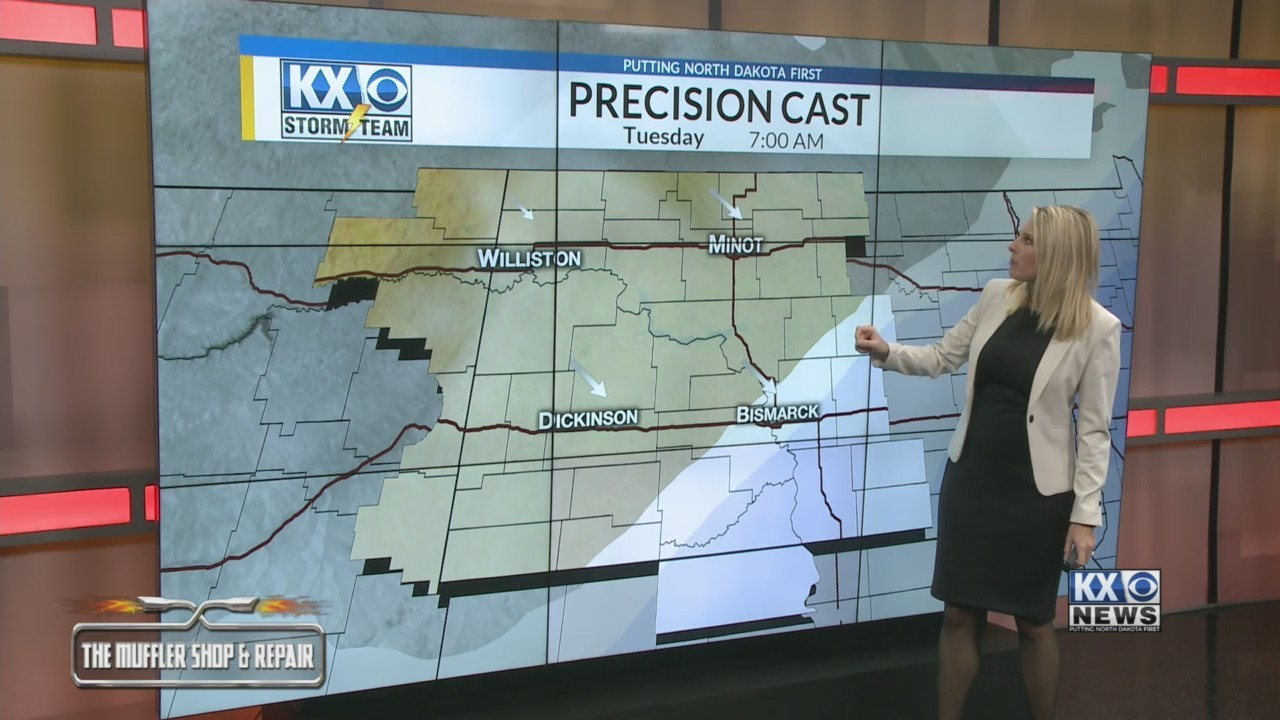 Amber's Monday Morning One Minute Forecast 1/21