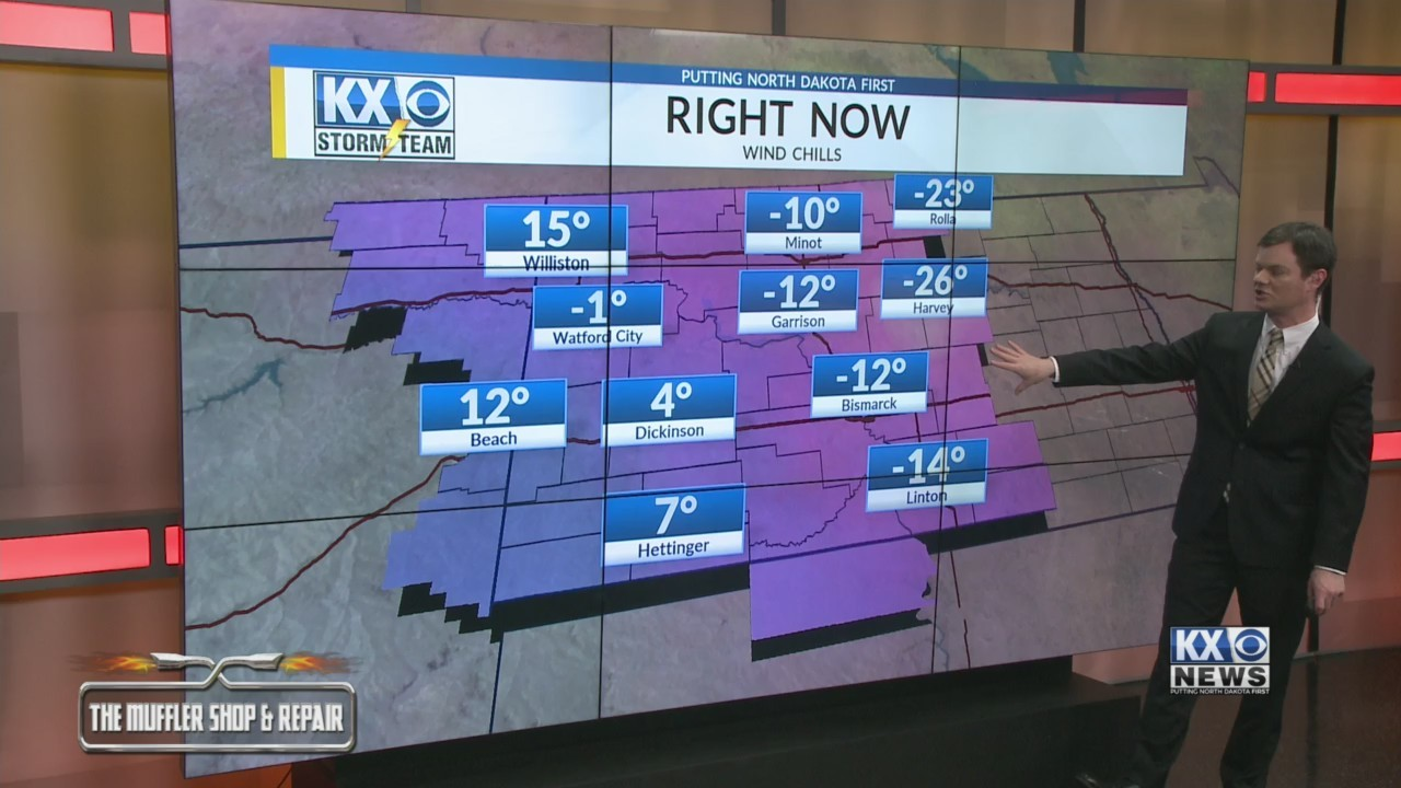 Robert's One Minute Forecast 1-16-19